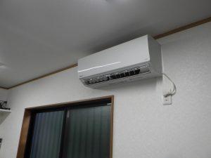 大伸冷熱は家庭用エアコンの販売・取付工事もしています!