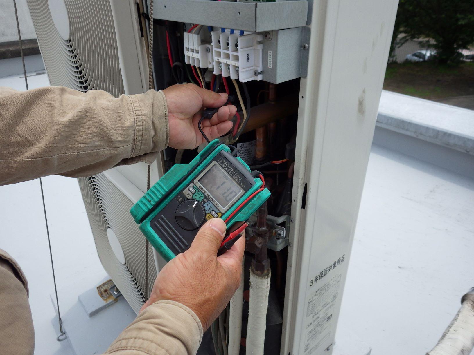 電流11Aを計測